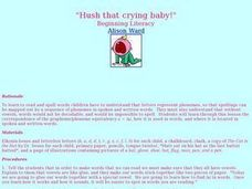 """Hush That Crying Baby!"" Lesson Plan"