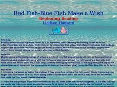 Red Fish-Blue Fish Make a Wish Lesson Plan