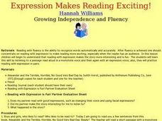 Expression Makes Reading Exciting! Lesson Plan