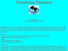 Thundering Thespians Lesson Plan