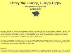 Harry the Hungry, Hungry Hippo Lesson Plan