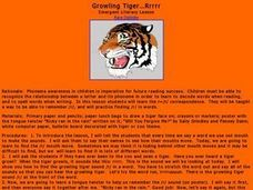 Growling Tiger Rrrrr Lesson Plan