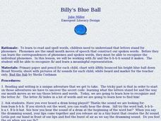 Billy's Blue Ball Lesson Plan