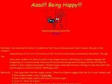 Aaaa!!! Being Happy!!! Lesson Plan