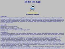 Eddie the Egg Lesson Plan