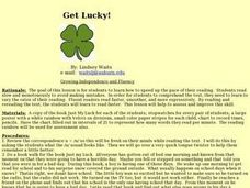 Get Lucky! Lesson Plan