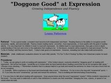 """Doggone Good"" at Expression Lesson Plan"
