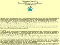 Marvelous Monsters! Lesson Plan