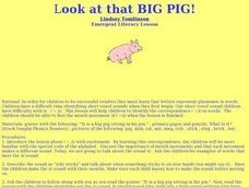 Look at that BIG PIG!!! Lesson Plan