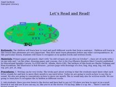 Let's Read and Read! Lesson Plan