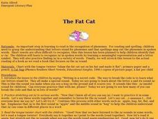 The Fat Cat Lesson Plan