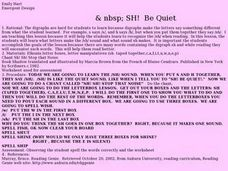 Sh! Be Quiet Lesson Plan