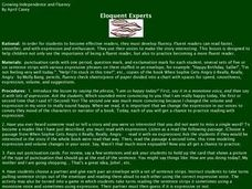 Eloquent Experts Lesson Plan