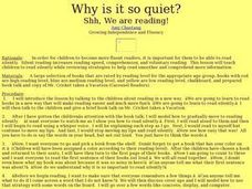 Why is It So Quiet? Lesson Plan