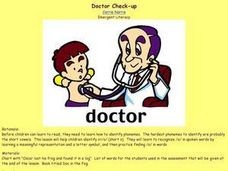 Doctor Check-Up Lesson Plan
