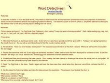Word Detectives! Lesson Plan