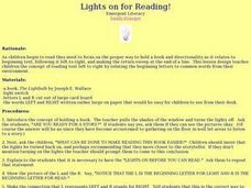 Lights on for Reading! Lesson Plan