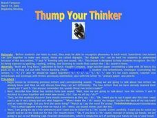 Thump Your Thinker Lesson Plan