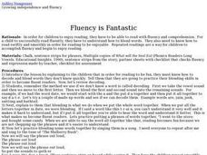 Fluency is Fantastic Lesson Plan
