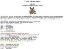 Fluency is Freedom! Lesson Plan