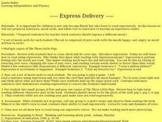 Express Delivery Lesson Plan
