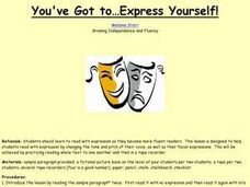 You've Got to Express Yourself! Lesson Plan