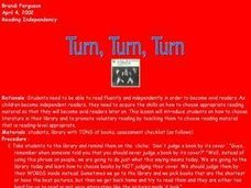 Turn, Turn, Turn Lesson Plan