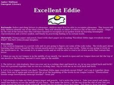 Excellent Eddie Lesson Plan