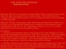 Icky Inchy the Inchworm Lesson Plan