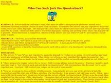 Who Can Sack Jack the Quarterback? (Reading) Lesson Plan