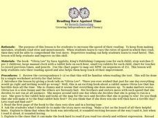 Reading Race Against Time Lesson Plan