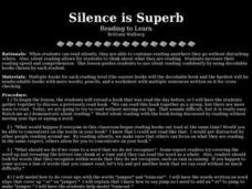 Silence is Superb Lesson Plan
