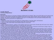 Reading Stars Lesson Plan