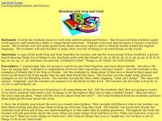 Blending with Frog and Toad Lesson Plan
