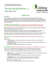 """The Star-Spangled Banner"" Lesson Plan"