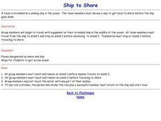 Challenge Games - Ship to Shore Lesson Plan