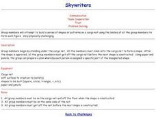 Challenge Games - Skywriters Lesson Plan