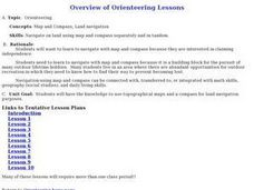 Orienteering Lessons - Overview Lesson Plan