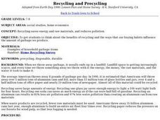 Recycling and Precycling Lesson Plan