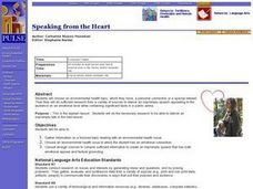 Speaking from the Heart Lesson Plan