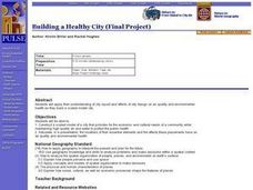 Building a Healthy City (Final Project) Lesson Plan