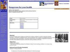 Dangerous for your health Lesson Plan
