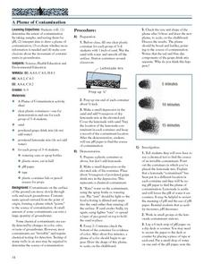 A Plume of Contamination Lesson Plan
