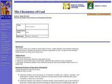 The Chemistry of Coal Lesson Plan