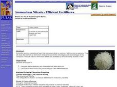Ammonium Nitrate - Efficient Fertilizers Lesson Plan