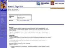 What is Migration Lesson Plan