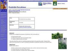 Pesticide Prevalence Lesson Plan
