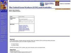 American History: The United Farm Workers (UFW) and Pesticides Lesson Plan