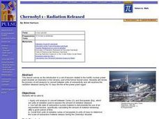 Chernobyl 1 - Radiation Released Lesson Plan