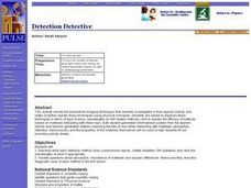 Detection Detective Lesson Plan